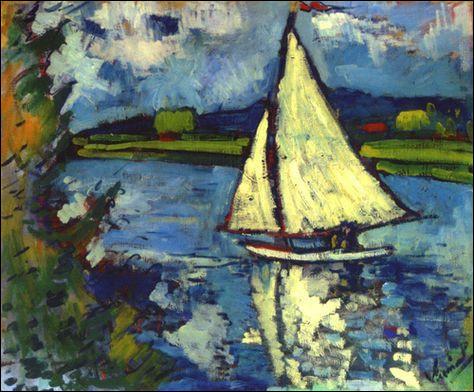 Voiliers en peinture (2)