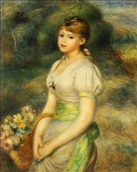 """Qui a peint """"Jeune fille au panier de fleurs"""" ?"""