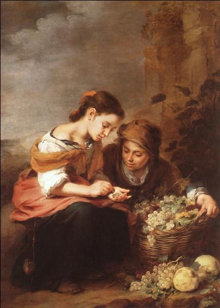 """À qui doit-on le portrait de """"La Petite Vendeuse de fruits"""" ?"""