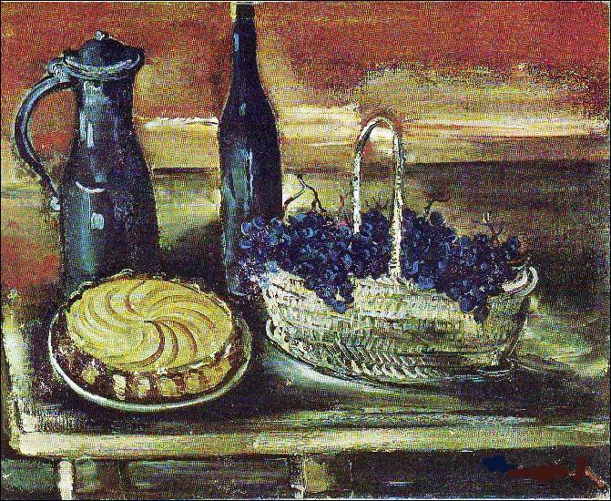 """Qui a peint """"Le Panier de raisins"""" ?"""