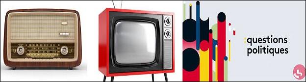 """Il est animateur de radio et de télévision. Il présente l'émission """"Questions politiques"""", depuis 2017."""