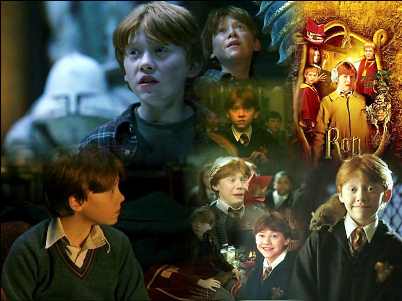 Combien Ron a-t-il de frères ?