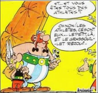 Que faisaient les Grecs avant de commencer des épreuves aux Jeux olympiques ?