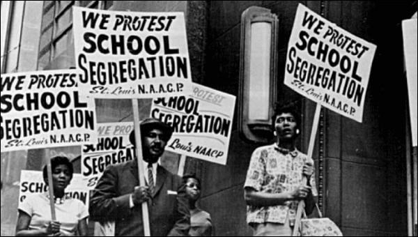 Quelles figures ont lutté contre la ségrégation raciale aux États-Unis ?