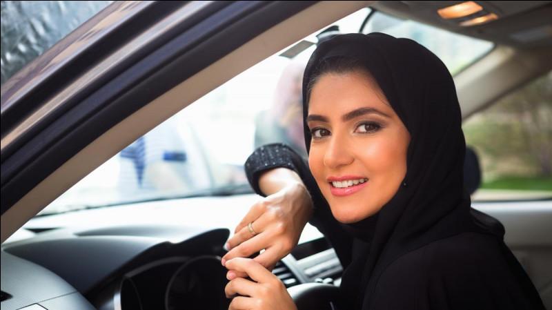 En quelle année le droit de conduire pour les femmes en Arabie Saoudite a-t-il été autorisé ?