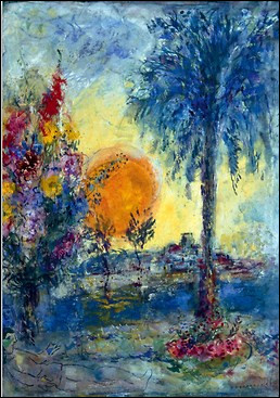 """Qui est l'artiste de la toile """"Sous le palmier"""" ?"""