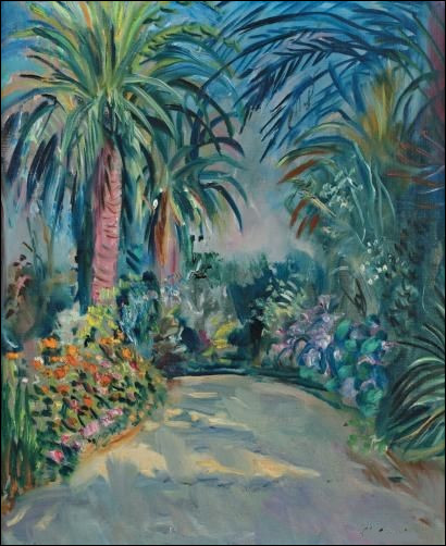 """Qui a peint """"L'allée de palmiers"""" ?"""