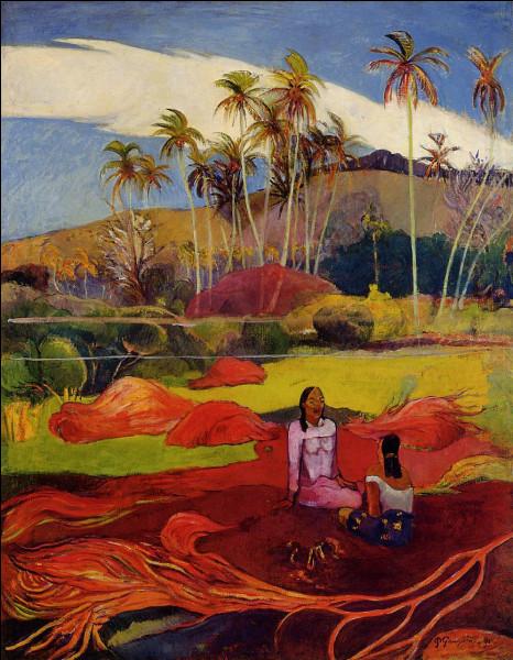 """Qui a peint """"Femmes de Tahiti sous les palmiers"""" ?"""