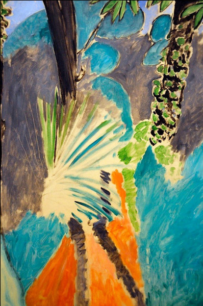 """Qui a peint """"La Feuille du palmier, Tanger"""" ?"""