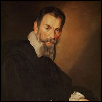 Ce compositeur italien, dont les oeuvres, essentiellement vocales, se situent à la charnière de la Renaissance et de la musique baroque, c'est ... Monteverdi.