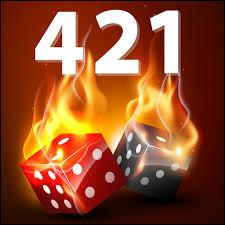 À combien de dés se joue le jeu du 421 ?