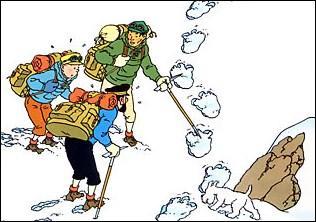 Quelle créature Tintin rencontre-t-il dans «Tintin au Tibet» ?