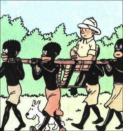 De quoi ont été accusés les premiers albums de Tintin ?