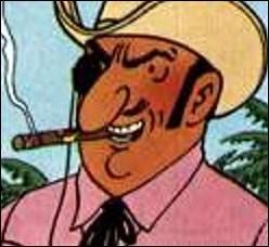 Quelle est la nationalité de Rastapoupolos, l'ennemi juré de Tintin ?