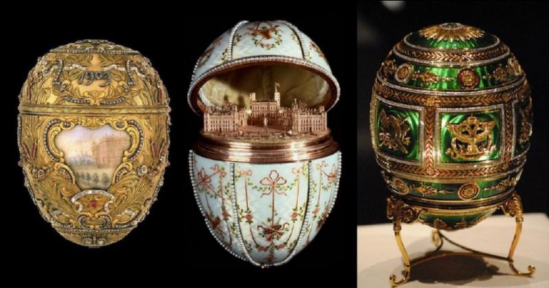 De quel pays les ''oeufs de Fabergé'' sont-ils originaires ?