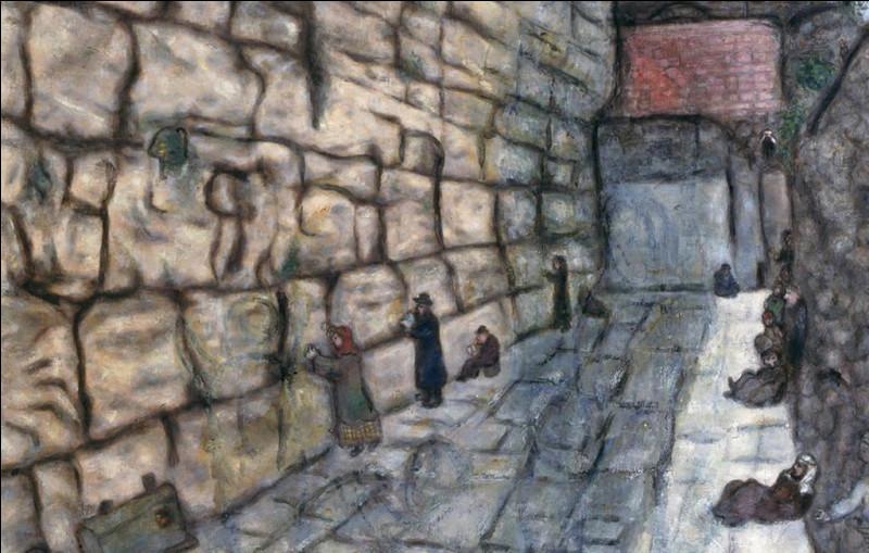 """Qui a représenté """"Le Mur des Lamentations"""" ?"""
