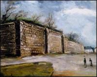 """Qui est l'auteur du tableau """"Le Mur"""" ?"""
