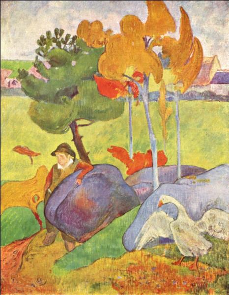 """Qui est le peintre du """"Petit Breton à l'oie"""" ?"""