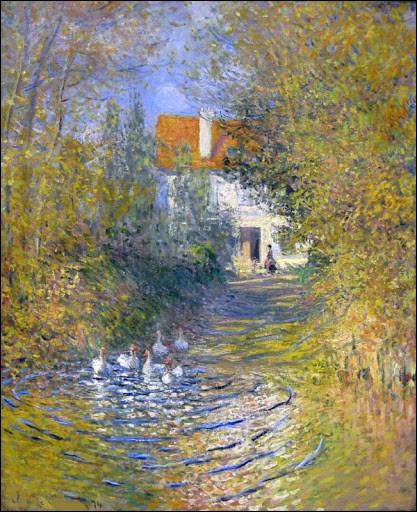 """Qui a peint """"Les Oies dans le ruisseau"""" ?"""