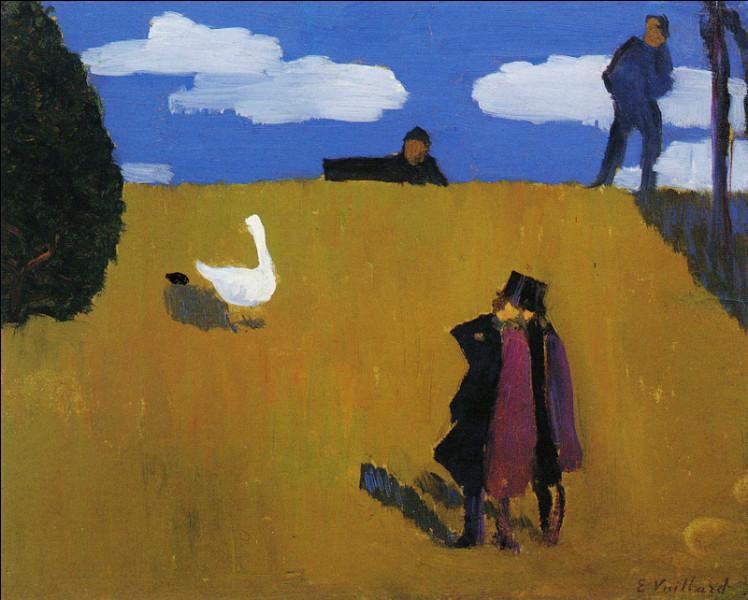 L'oie en peinture (2)