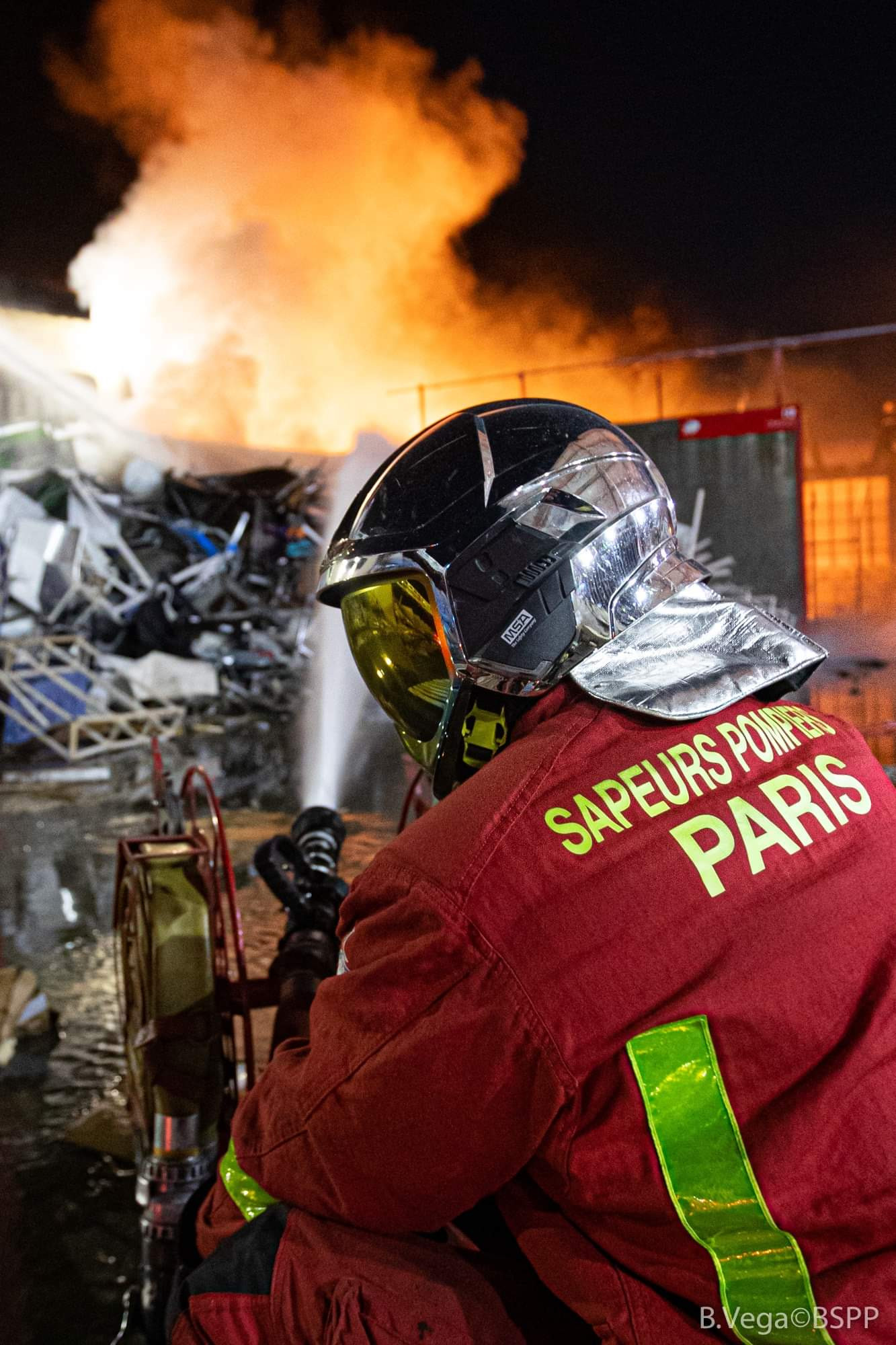 Pompiers en général