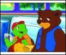 Quel est le nom de l'ours, meilleur ami de la petite tortue Franklin :