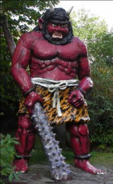 De quelle peau est fait le pagne d'un Oni ?