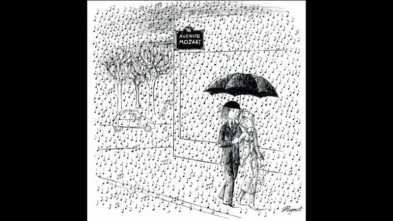 Un p'tit coin d'parapluie contre un coin d'paradis !