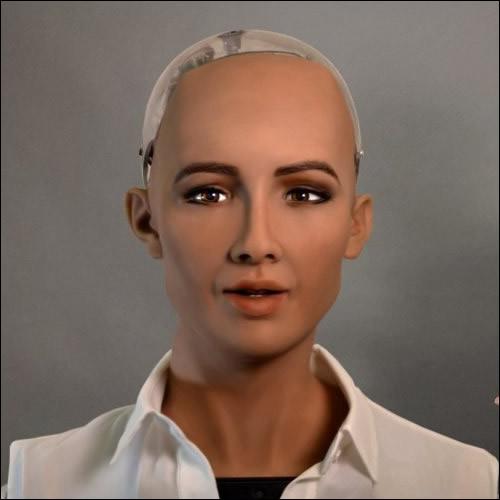 Le robot Sophia a été activé le ...