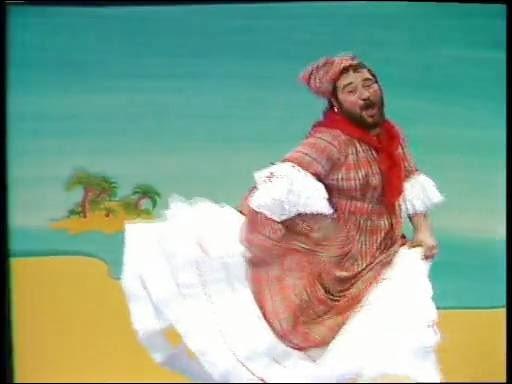 En 1978, quelle chanson Carlos interprète-t-il costumé en doudou des îles ?