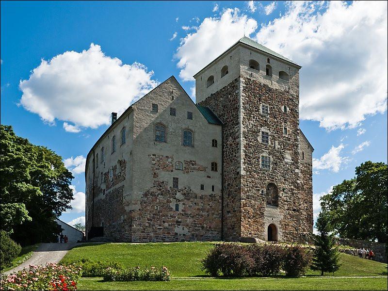 Où se situe le château de Turku ?
