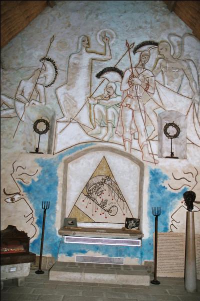 À Milly-la-Forêt se trouve une chapelle décorée par :