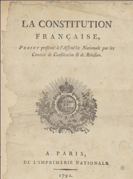 La Ve République française est fondée par :