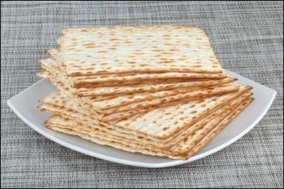 Que n'y a-t-il pas dans le pain azyme ?