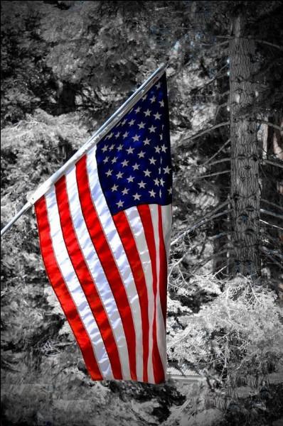 """Où y avait-il un drapeau américain, dans la chanson """"Kiss me"""" de C. Jérôme ?"""