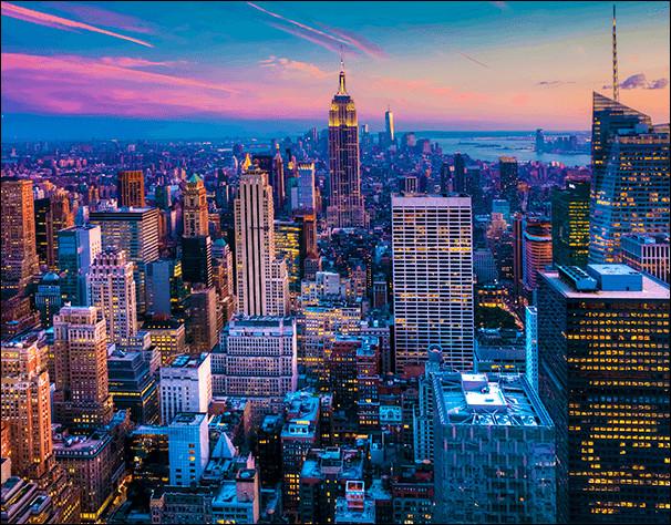 Combien y a-t-il d'habitants à New York ?