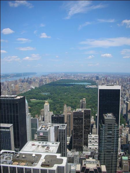 Comment s'appelle cet espace vert de New York ?