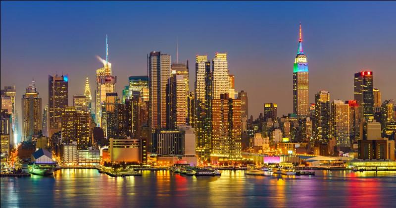 Combien y a-t-il d'arrondissements à New York ?