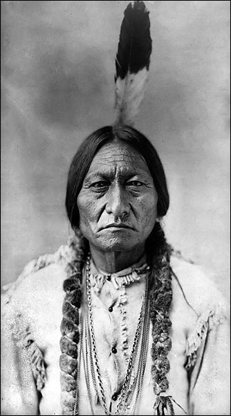 Qui est ce grand chef Sioux ?