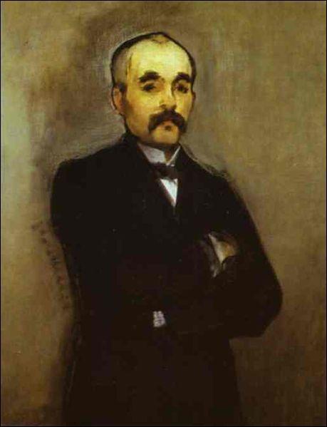 Qui est ce jeune homme politique dont la moustache blanche deviendra très célèbre au début du XXe siècle ?