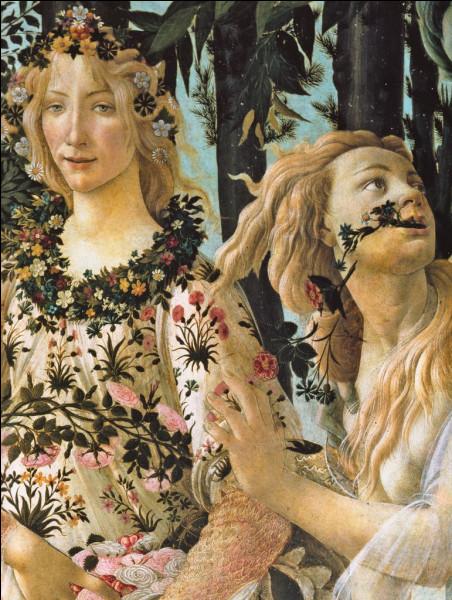 """Est-ce Sandro Boticelli qui a titré son tableau """"Le Printemps"""" ?"""