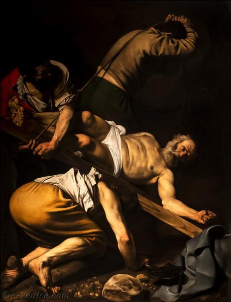 """À Rome, où peut-on voir le tableau du Caravage """"Crucifixion de Saint Pierre"""" ?"""