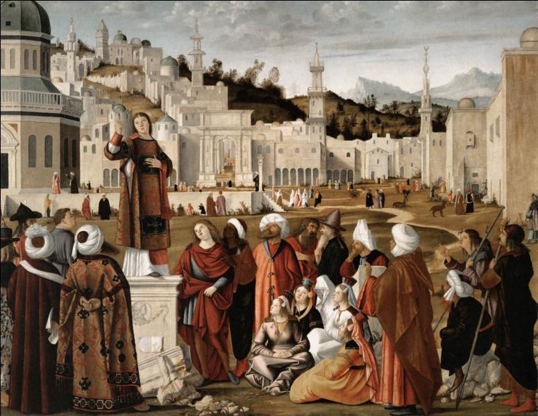 Quel était le prénom du peintre de l'école vénitienne Carpaccio ?