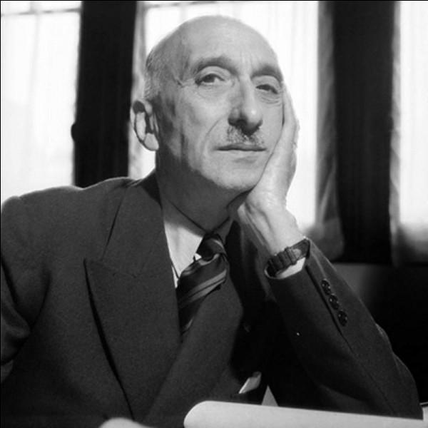 """Cet écrivain, auteur de """"Thérèse Desqueyroux"""", """"Le Désert de l'amour"""", lauréat du Grand prix du roman de l'Académie française en 1926, prix Nobel de littérature en 1952, se prénomme ..."""