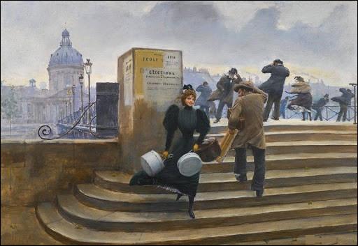 Qui a représenté cet escalier ?