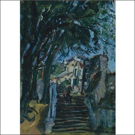 """Qui est l'auteur des """"Escaliers à Chartres"""" ?"""
