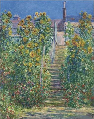 """Qui a peint """"L'Escalier à Vetheuil"""" ?"""