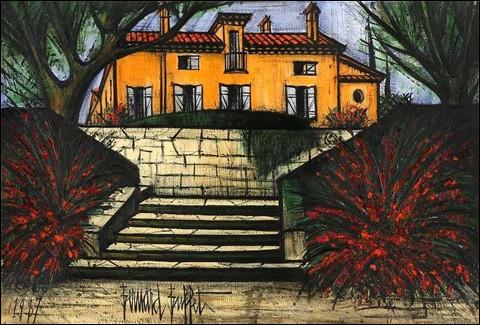Les escaliers en peinture !