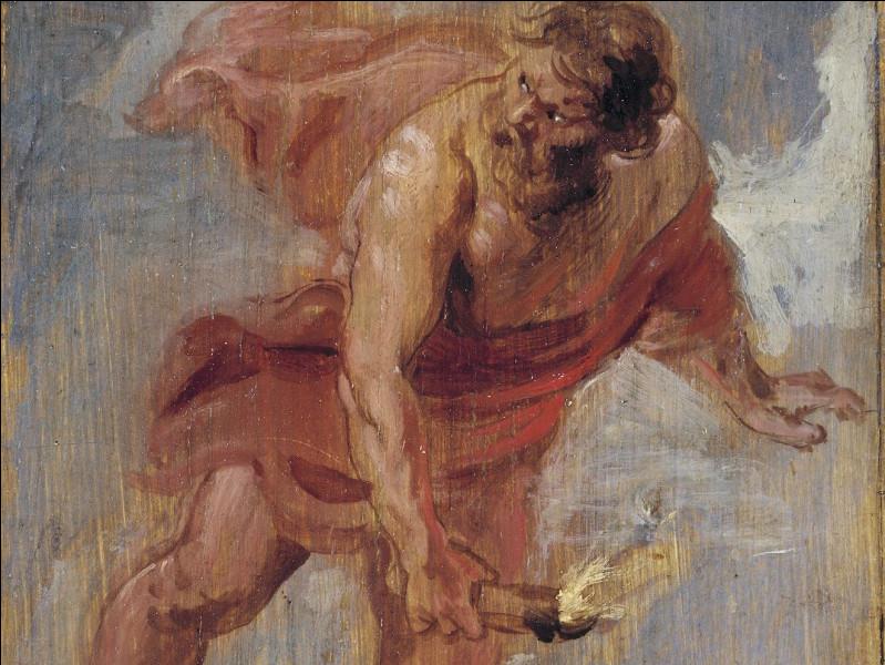 """Qui est cette personne qui """"vole"""" le feu pour le donner aux humains ? (Mythologie grecque)"""