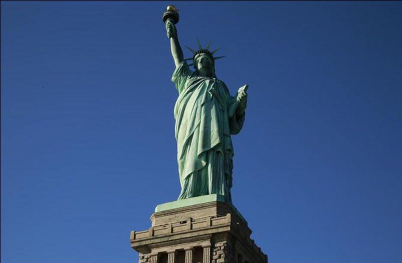 Dans quelle ville a-t-on fabriqué cette statue ?